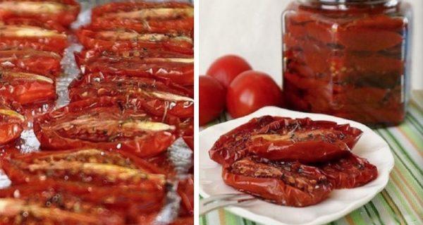 Невероятно вкусные вяленые помидоры по-итальянски