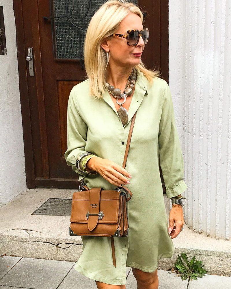22 красивых идей летнего гардероба 2020 для женщин 50 лет от Эвелины Хромченко