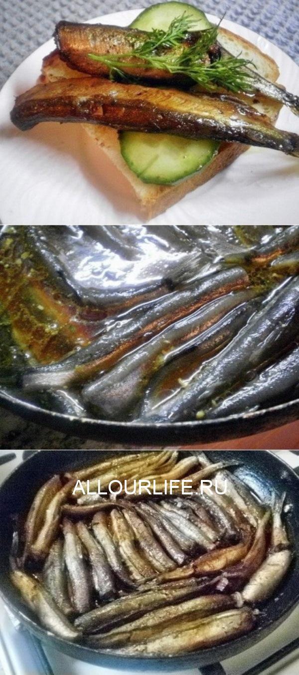 Новый рецепт. Домашние шпроты