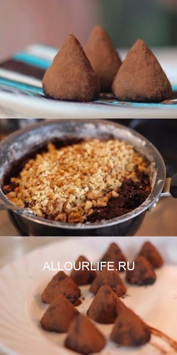 Как приготовить шоколадные трюфели