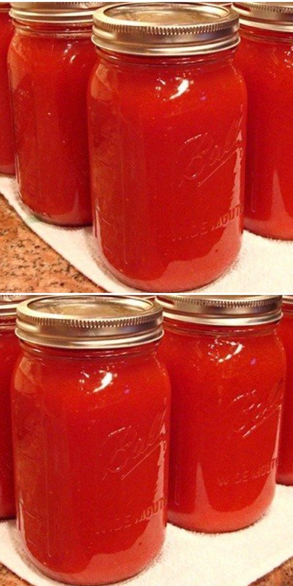Теперь томатный сок делаю только так, без соковыжималки