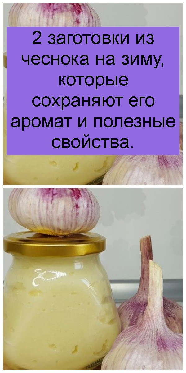 2 заготовки из чеснока на зиму, которые сохраняют его аромат и полезные свойства 4