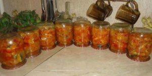 Интересная и очень вкусная закрутка на зиму: скумбрия с овощами 1