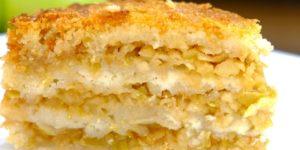 Как испечь нежнейший и самый вкусный яблочный пирог «Три стакана» 1