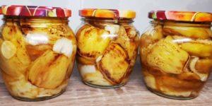 Рецепт баклажанов на зиму, как шашлык. Прошлой зимой 20 банок не хватило, буду готовить больше 1