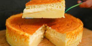 Рецепт чудо-пирога, который в процессе выпекания сам разделяется на бисквит и заварной крем 1