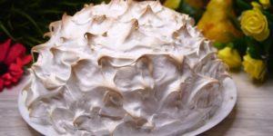 Торт Аляска, который обожают гости и домочадцы 1