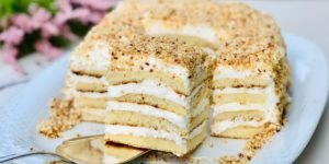 Торт «Молочная девочка» за 30 минут вместе с выпечкой 1