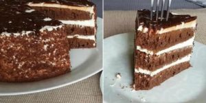 «Черный принц» — торт, который просто тает во рту. Простой и быстрый рецепт 1