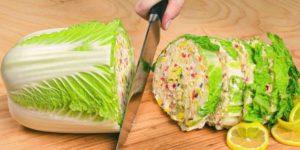 Гениальный салат из пекинской капусты — и вкусно, и очень красиво 1