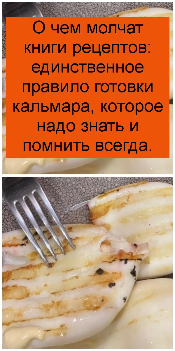 О чем молчат книги рецептов: единственное правило готовки кальмара, которое надо знать и помнить всегда 4
