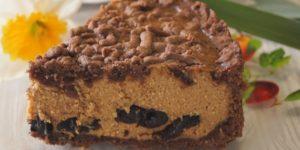 Простой и вкусный пирог с творогом и черносливом 1