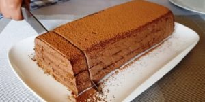 Рецепт шоколадного десерта 1