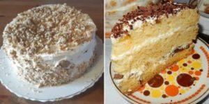 Рецепт вкусного торта «Сметанник» за 40 минут. Он просто тает во рту 1