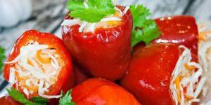 ИЗУМИТЕЛЬНО ВКУСНАЯ ЗАКУСКА «КРУТЫЕ ПЕРЦЫ» Закуска прекрасно сочетается с любым блюдом и особенно вкусно дополняет мясо.