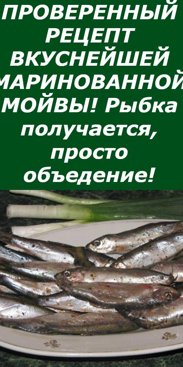 ПРОВЕРЕННЫЙ РЕЦЕПТ ВКУСНЕЙШЕЙ МАРИНОВАННОЙ МОЙВЫ! Рыбка получается, просто объедение!