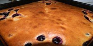 Рецепт пирог-сметанника. Простой и быстрый десерт из подручных ингредиентов